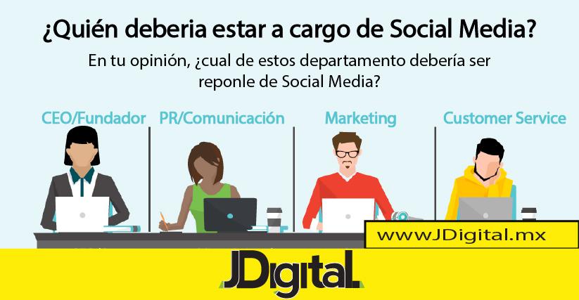 Social media en las empresas, quien debería estar a cargo…