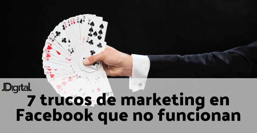 trucos de marketing en Facebook