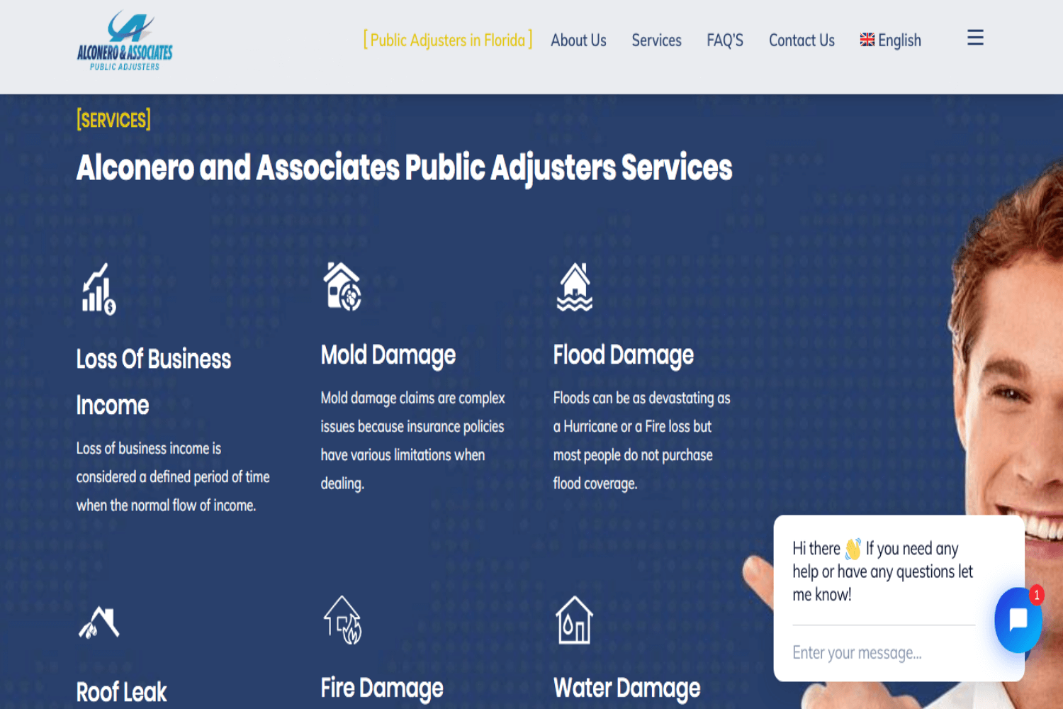 Alconero Public Adjuster in Florida, Agencia Marketing Digital