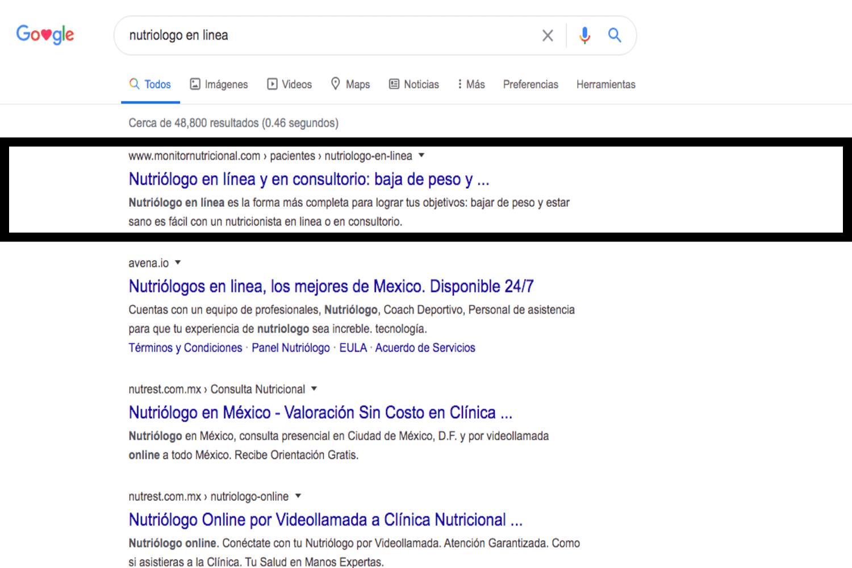 Primera posición de Google, SEO, Agencia Marketing Digital