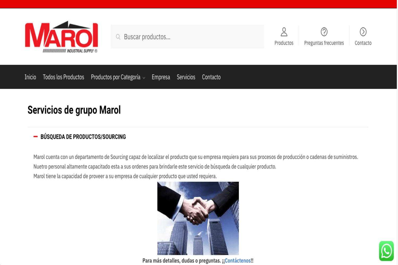 Diseño de sitios web, Marol, Agencia Marketing Digital
