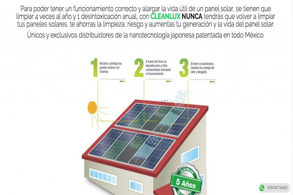 Paneles Solares en Monterrey, GreenLux, CleanLux