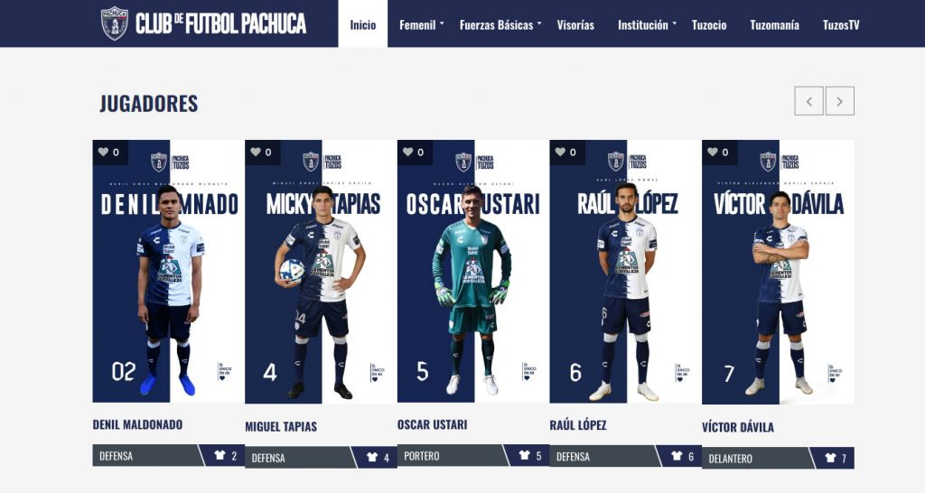 Sitio-web-Club-Pachuca-Jugadores
