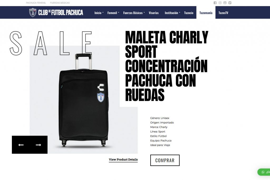 Sitio-web-Club-Pachuca-Tuzomania