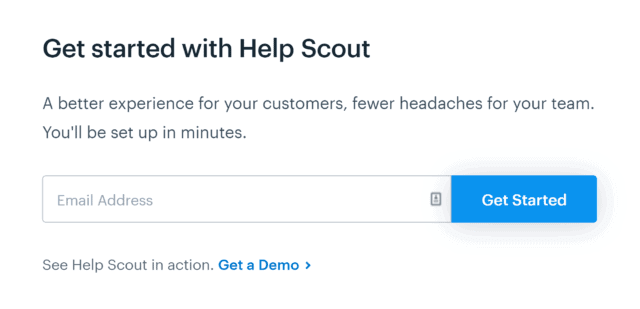 Helpscout – CTA