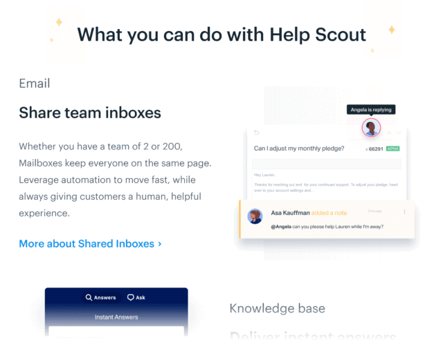 Helpscout – Features