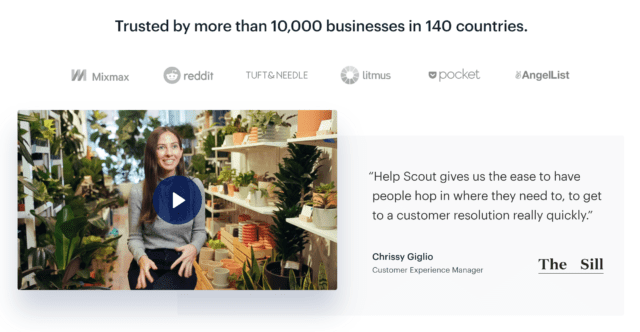 Helpscout – Social Proof